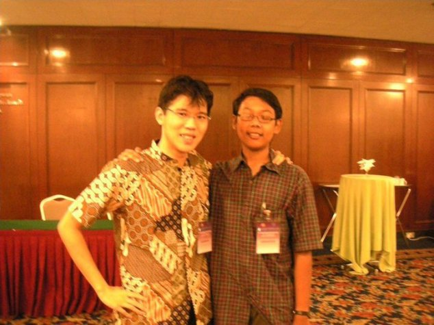 With Michael Teoh at GMUN2010