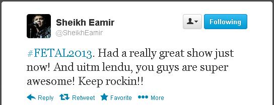 Sheikh Eamir   https://twitter.com/SheikhEamir/status/313986144020856833