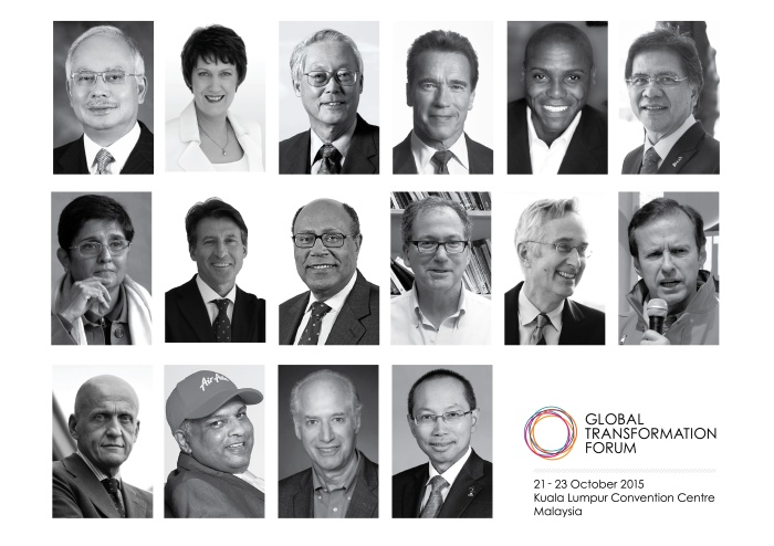 Luminary icons to take centre stage at inaugural global event in Kuala Lumpur, Malaysia. (PRNewsPhoto/BFR Institute)