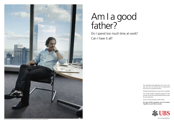 UBS launches global brand campaign (PRNewsFoto/UBS)
