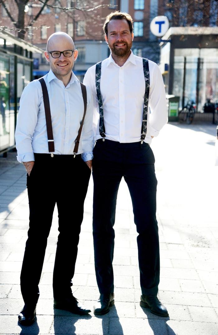 Johan and David